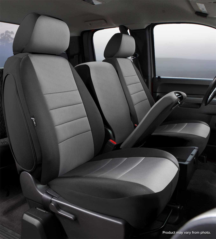 Fia Neo Neoprene Custom Fit Truck Seat Covers Np97 36 Gray Np97 36 Gray