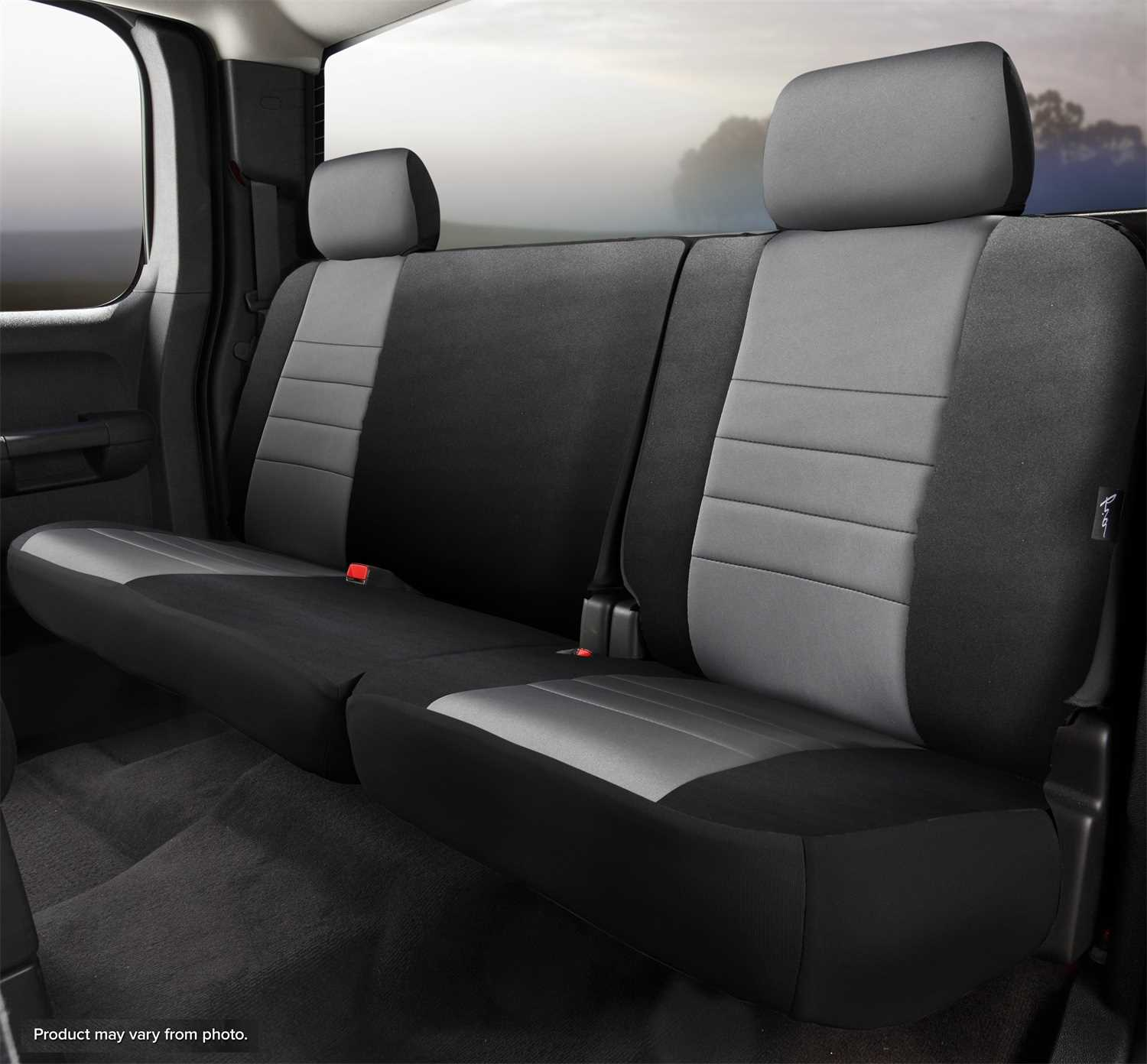 Swell Np92 86 Gray Fia Neo Neoprene Custom Fit Truck Seat Covers Np92 86 Gray Unemploymentrelief Wooden Chair Designs For Living Room Unemploymentrelieforg