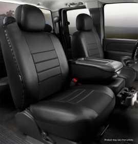 LeatherLite™ Custom Seat Cover SL69-5 BLK/BLK