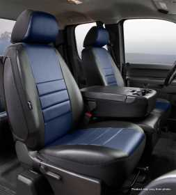 LeatherLite™ Custom Seat Cover SL67-29 BLUE