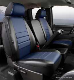 LeatherLite™ Custom Seat Cover SL67-24 BLUE