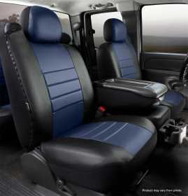 LeatherLite™ Custom Seat Cover SL68-17 BLUE