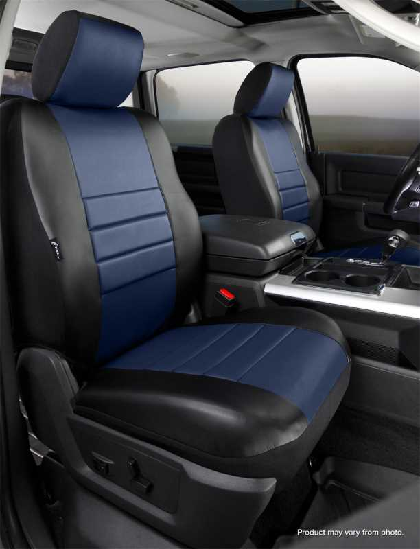 LeatherLite™ Custom Seat Cover SL67-34 BLUE