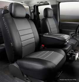 LeatherLite™ Custom Seat Cover SL69-5 GRAY