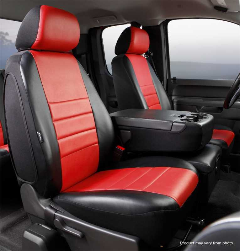 LeatherLite™ Custom Seat Cover SL67-29 RED