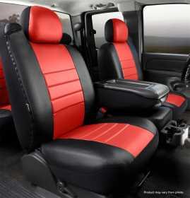 LeatherLite™ Custom Seat Cover SL68-17 RED