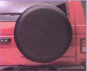 Tire Cover TC227 BLACK