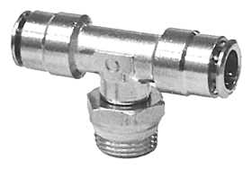 Male Branch Swivel Tee Air Fitting 3280