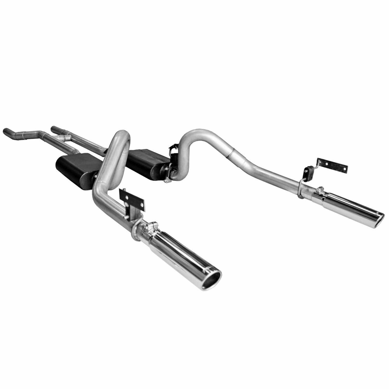 17281 Flowmaster American Thunder Downpipe Back Exhaust System