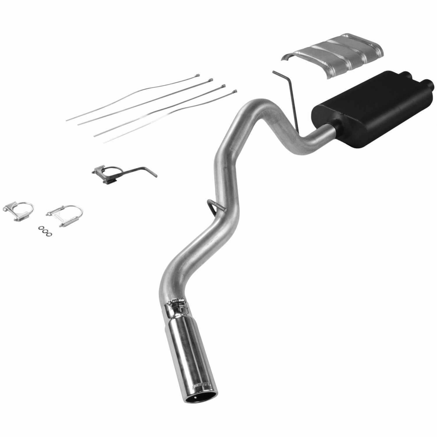 Flowmaster American Thunder Cat Back Exhaust System 17325