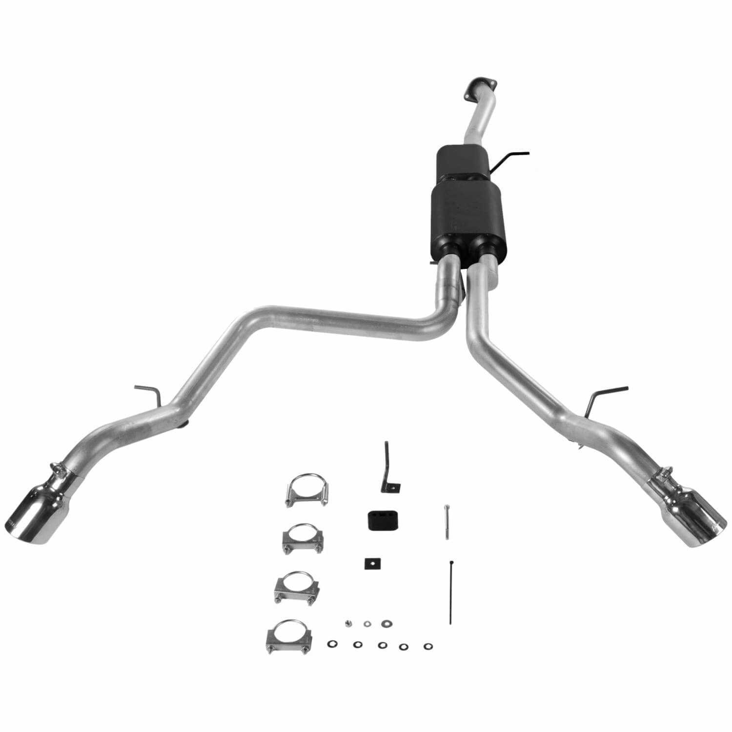 817342 Flowmaster American Thunder Cat Back Exhaust System