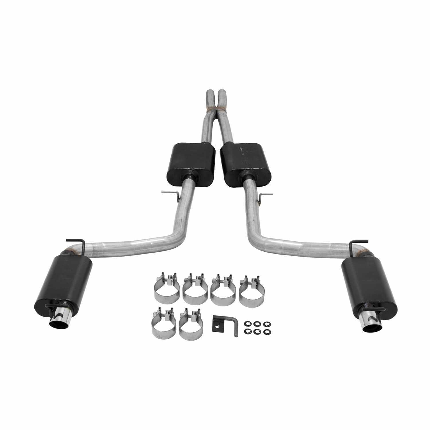 817741 Flowmaster American Thunder Cat Back Exhaust System