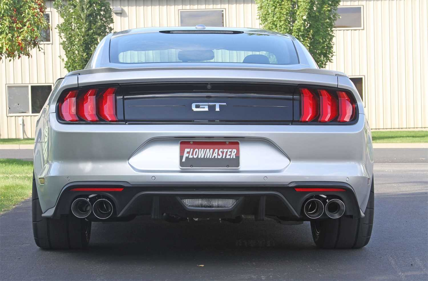 817859 Flowmaster American Thunder Axle Back Exhaust System