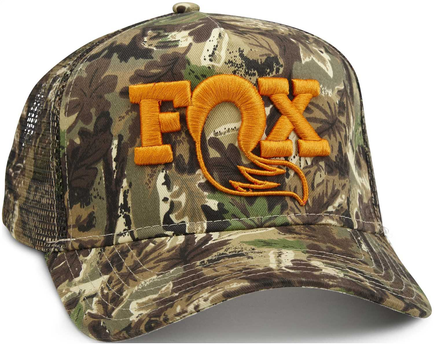 c7077224 Fox Factory Inc Fox Camo Trucker Hat 495-01-222