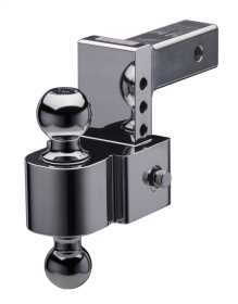 4 in. Drop Flash E Series Adjustable Ball Mount