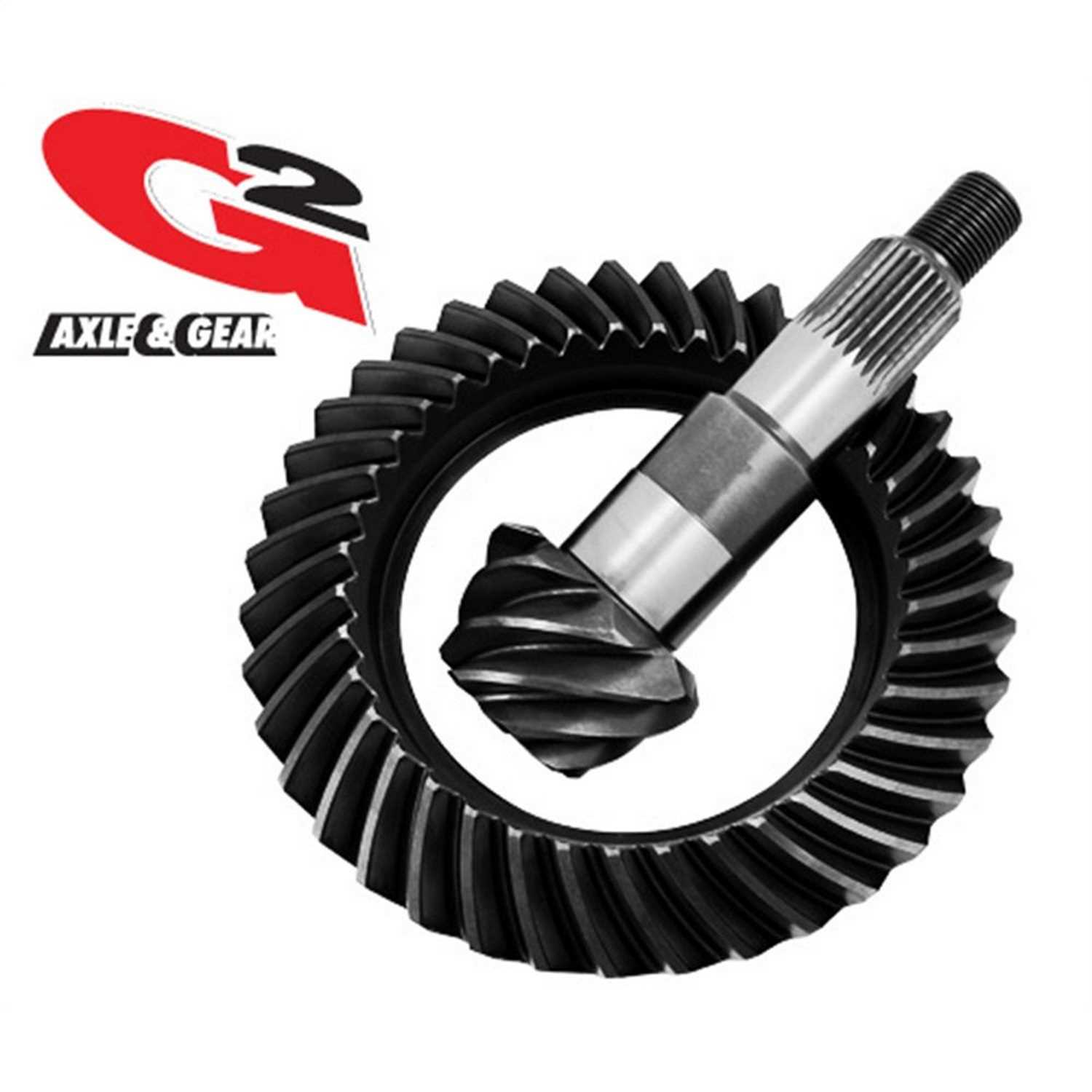 2-2014-308 G2 Axle and Gear Ring and Pinion Set