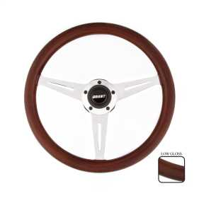 Slotted Wood Steering Wheel