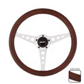 Wood Hole Steering Wheel