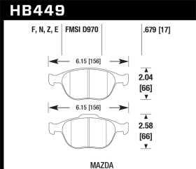 HT-14 Disc Brake Pad