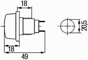 1259 Position Lamp
