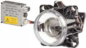 90mm DE Xenon Head Lamp Assembly