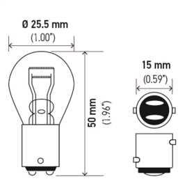 2357 Long Life Bulb