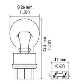 3057 Bulb