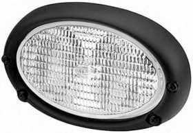 Oval 100 Double Beam Halogen Work Lamp