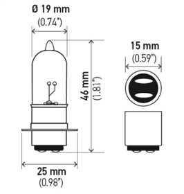 3603 Headlamp Bulb