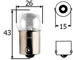 G8 Incandescent Bulb