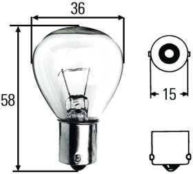 S11 Incandescent Bulb