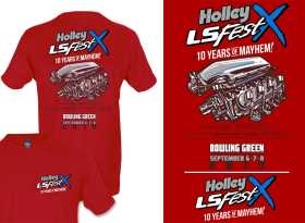 2019 Holley LS Fest Main Event Engine T-Shirt