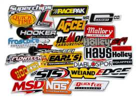 Go Fast Sticker Pack