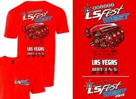 2019 LS West Event Engine Tee