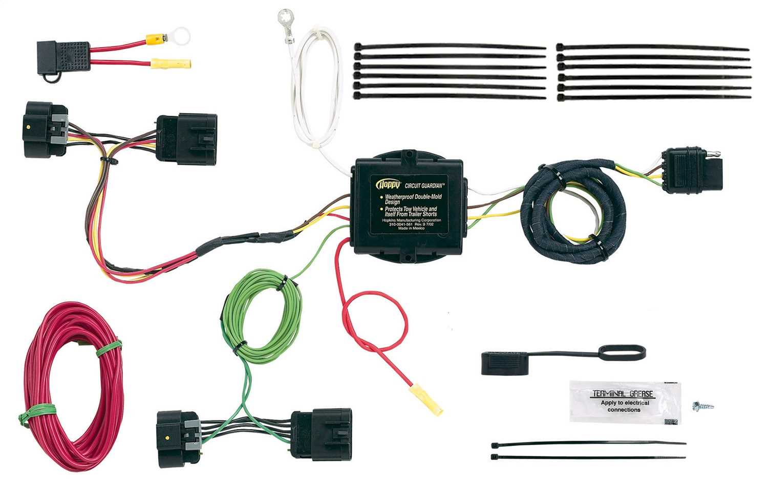 11141315 Hopkins Towing Solution Plug-In Simple® Vehicle To Trailer on trailer plugs, trailer brakes, trailer generator, trailer fuses, trailer hitch harness, trailer mounting brackets,