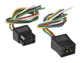 6-Pole Square Connector Set