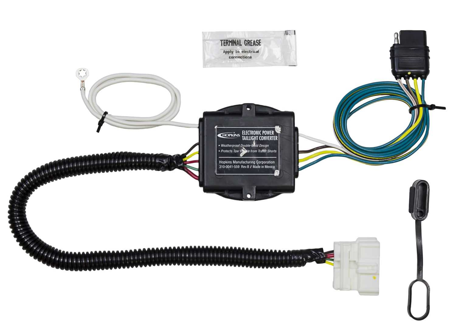43134 Hopkins Towing Solution Plug-In Simple® Vehicle To Trailer Wiring on