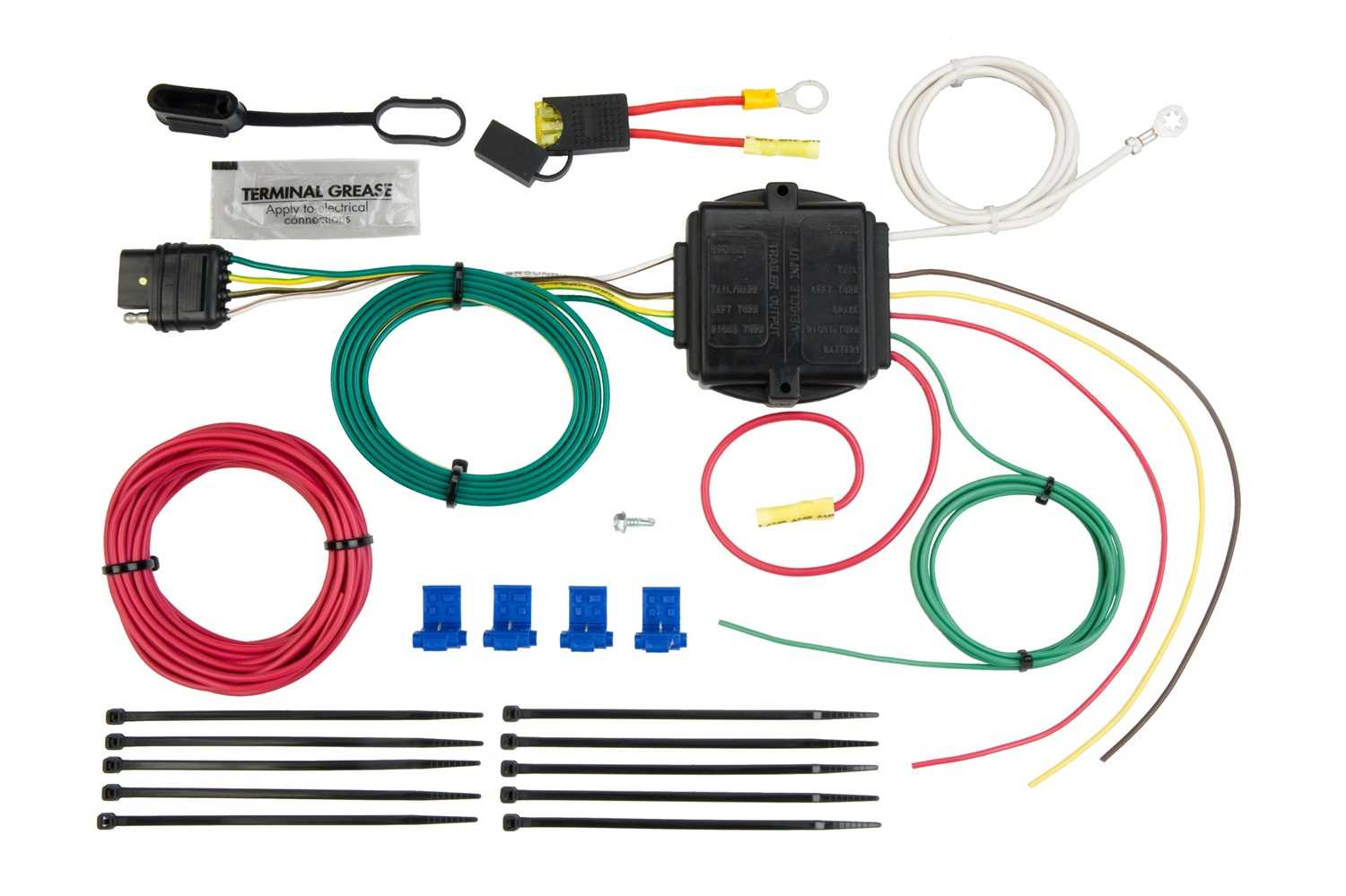 Hopkins Towing Solution Vehicle To Trailer Powered Taillight Converter Kit  46345 46345