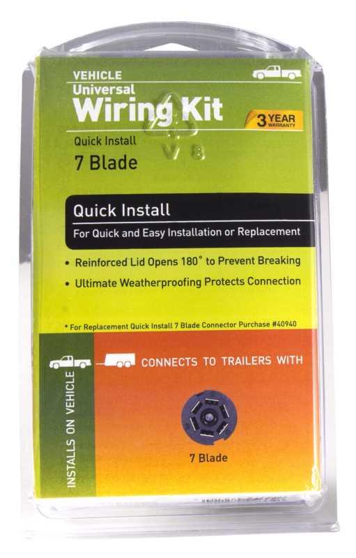 Endurance™ Universal Quick-Install Wiring Kit 47210