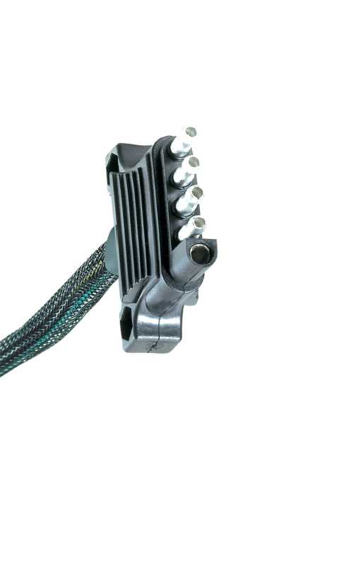 Endurance™ 5 Wire Flat Trailer End Connector 47910