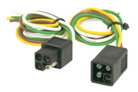 4-Pole Square Connector Set
