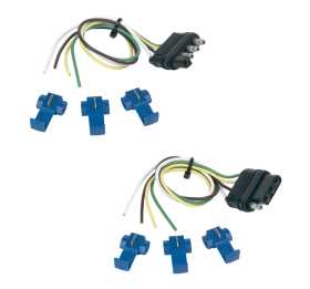 4-Wire Flat Connector Set