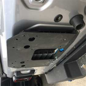 Spare Tire Relocation Plate