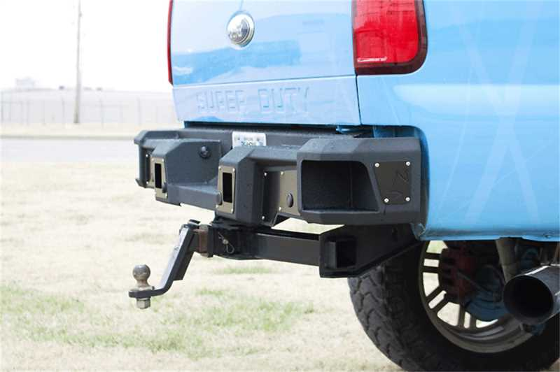 Hardline Rear Bumper RAW 61-615-19