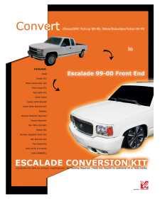Front End Conversion Kit CWV-8898ESC