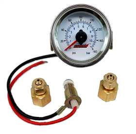 Dual Needle Panel Mount Air Pressure Gauge