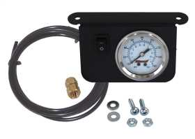 Single Needle Dash Panel Gauge