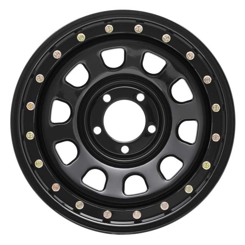 Rock Crawler Series 252 Black D-Window Wheel 252-5165