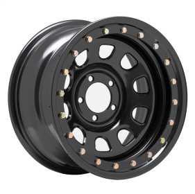 Rock Crawler Series 252 Black D-Window Wheel 252-5165F
