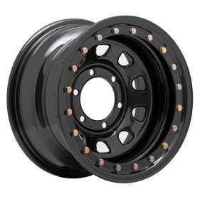 Rock Crawler Series 252 Black D-Window Wheel 252-5183F